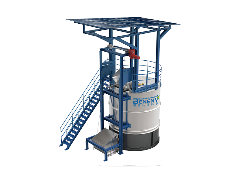 Solid waste fermentation equipment