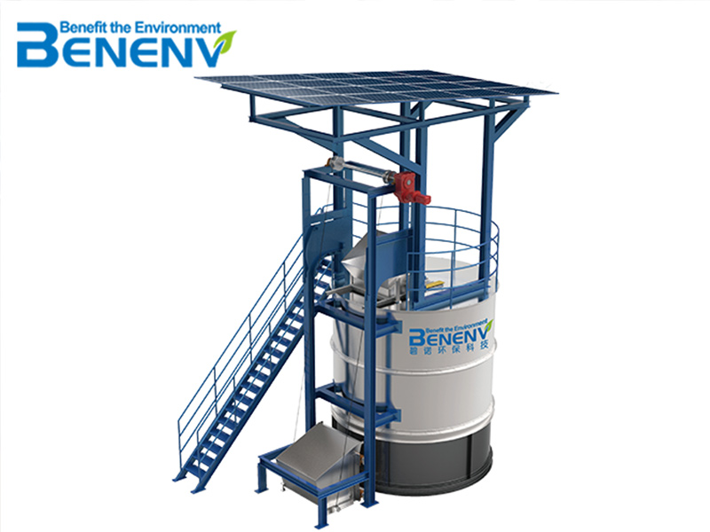 Chain-plate Aerobic Composting System
