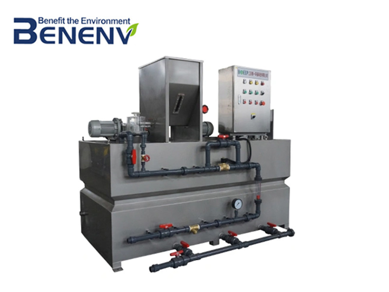 Chemical dosing machine